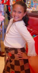 Brown skirt 148