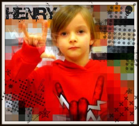 Henry rocks