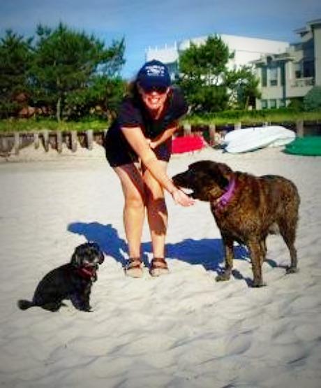 Amy at beach 460