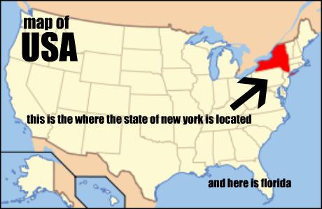 Map of usa 460