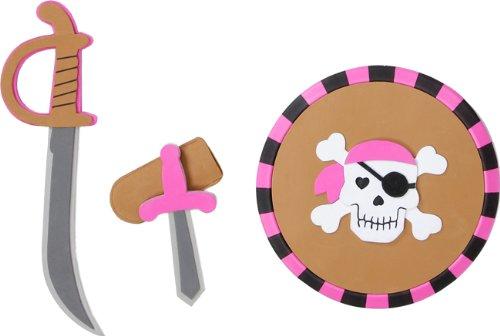 Pink pirate shield set