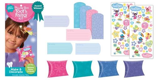 Pillow box tooth fairy kit