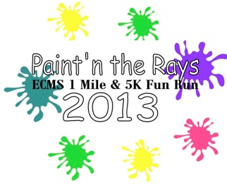 Multi Color Race Logo 2013