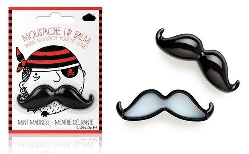Mustache lip balm