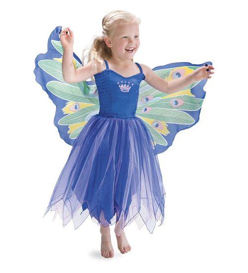 Dreamy peacock dress