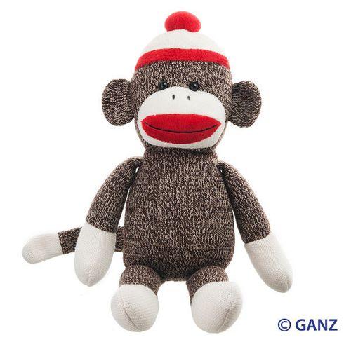 Sock monkey webkinz