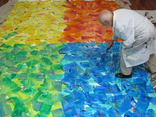 Eric carle paints