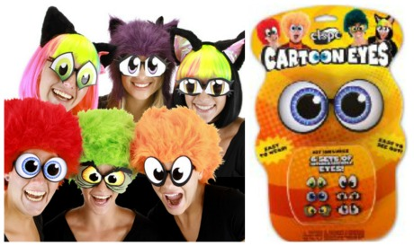 Cartoon eyes collage