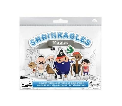 Shrinkable pirates