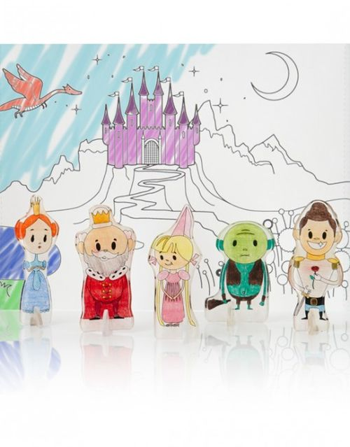 Shrinkable fairy tales a