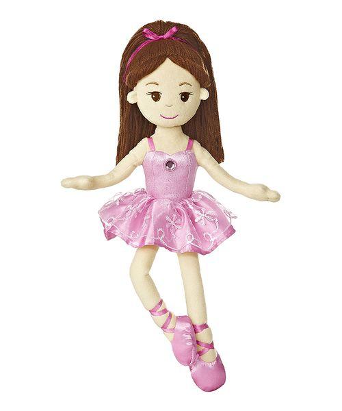 Plush ballerina