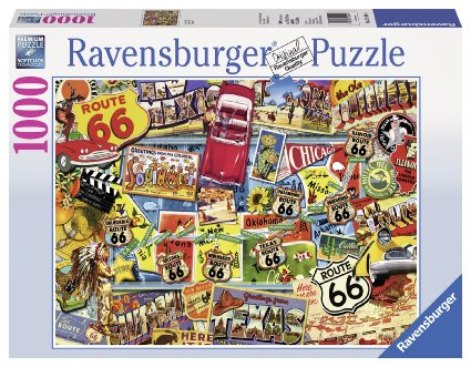 Grown rav puzzle road trip