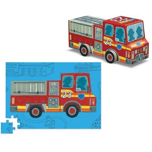 Fire truck puzzle a