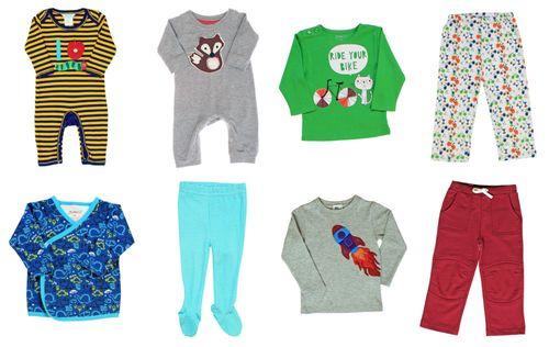 Website baby boy collage